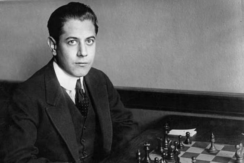 Capablanca: uno los mejores ajedrecistas