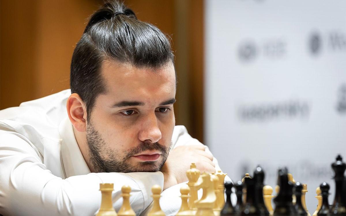 El Gran Maestro Ian Nepomniachtchi